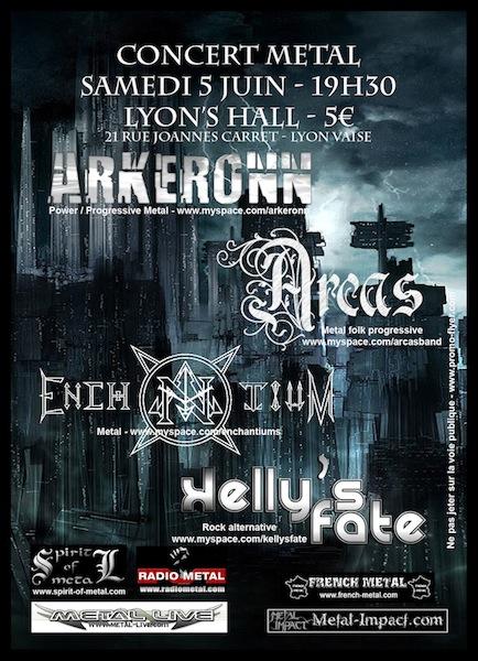 Concert Metal + Sortie Clip @ Lyon